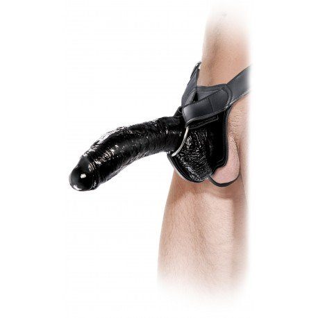 The Black Big One ! - Extension & Gode ceinture de 25 cm !