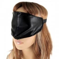 Antifaz - Máscara BDSM sencilla de cuero
