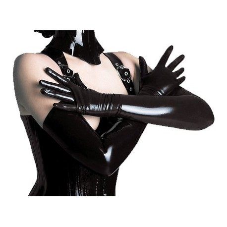 Gants longs en latex