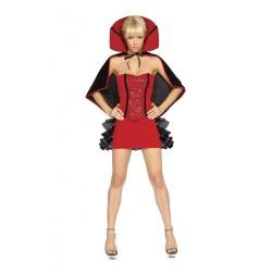 Disfraz de bruja diablesa sexy