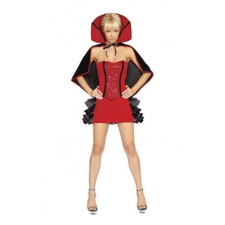 Costume sorcière diablesse sexy