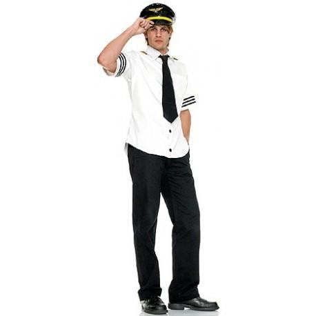 Costume / Uniforme de pilote de ligne pour homme
