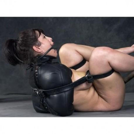 Camisole de force en cuir - Contraintes SM