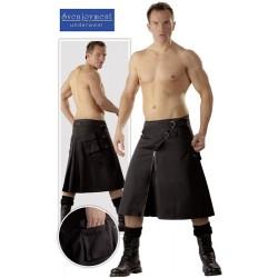 Falda para hombre - Kilt Negro - Sumisión