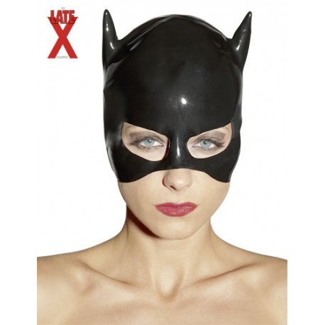 Masque de chatte Cat Women en latex