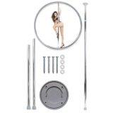 Kit barra de pole dance : atornillable, móvil