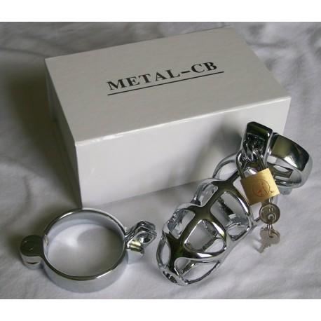 Jaula de castidad : CB 3000 - Metal Inox - Aireada