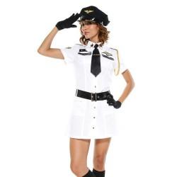 Disfraces sexy - comandante del borde del aire