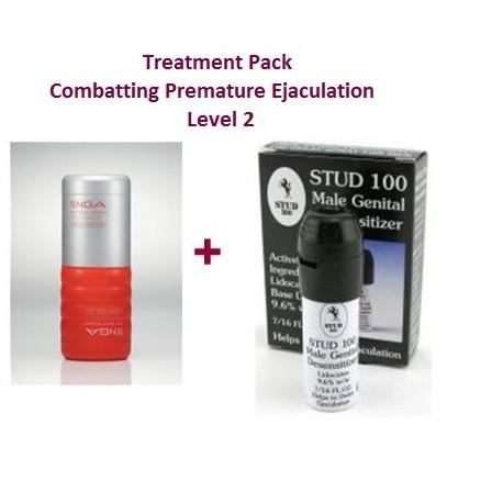 Paquete terapia - Contra la eyaculación precoz - Nivel 2 - Dificil de controlar