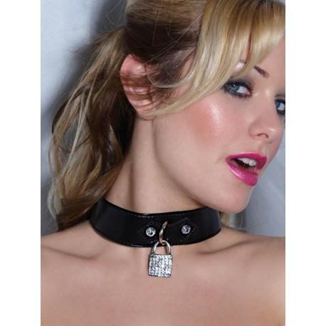 Ras collar: barnices y candado