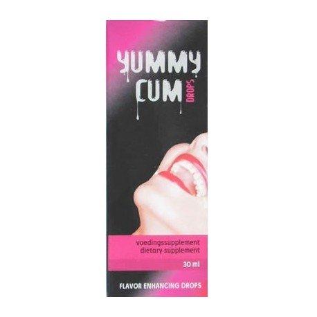 Yummy Cum Drops - Gotas para aumentar el volumen del esperma