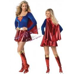 SuperGirl - disfraz superhéroe sexy sexy mujer