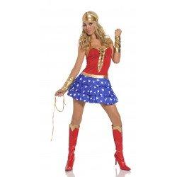 Disfraz - vestido sexy WonderWoman