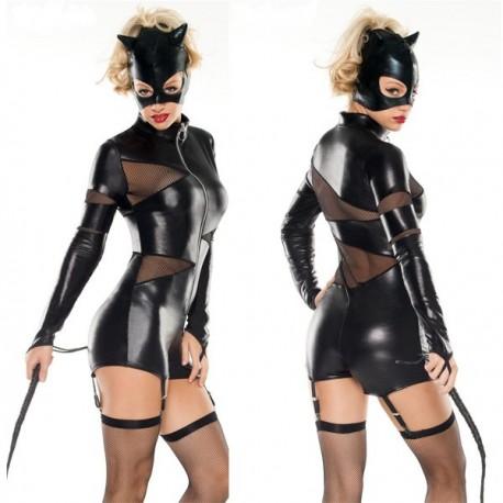 Dominatrix pussy - disfraz de Gatubela