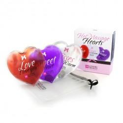 LoversPremium - 3 corazones de masaje de la calefacción