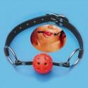 Gag Ball - Mordaza de sumisión - Bola agujereada para respiración