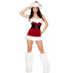 Corsé (completo) sexy vestido de Navidad madre