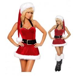 ¿Escote del vestido - madre Navidad o eres?