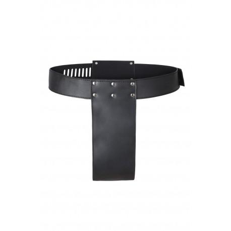 Cinturón de castidad - simplemente negro