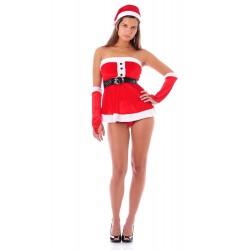 Muñeca atractiva de la Navidad - con accesorios