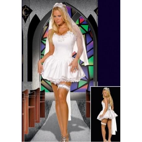 Sexy vestido de novia