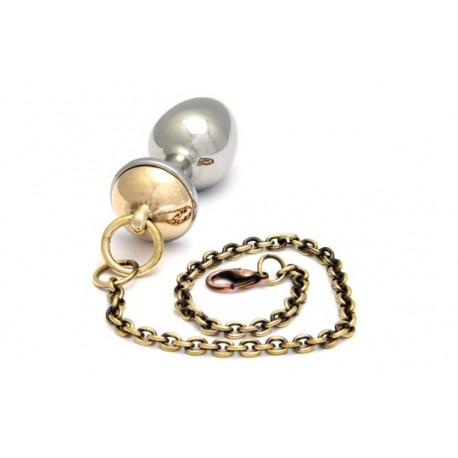 RoseBud - Chupete con cadena y mosquetón