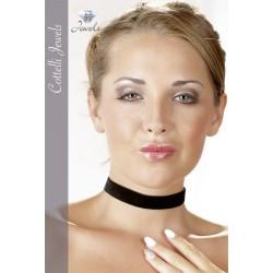 Cuello de RAS en terciopelo negro - Sexy