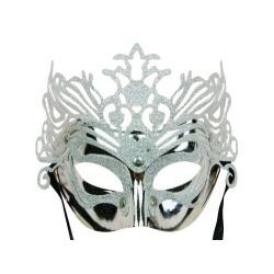 Máscara veneciana - reina de hielo
