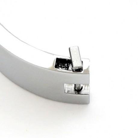 Collar Sumisión Dominación cromado con cierre magnético