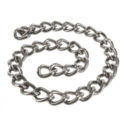 cadena de metal en BDSM 30cm
