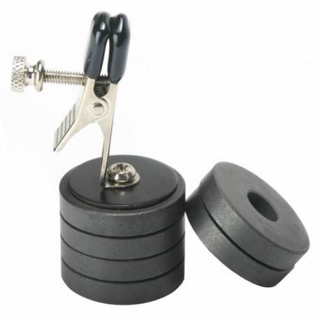 Pinza para pezones - peso magnético