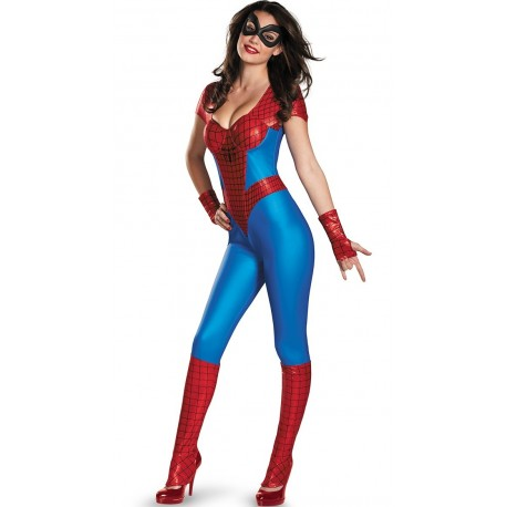 Traje mmono spider woman mujer sexy