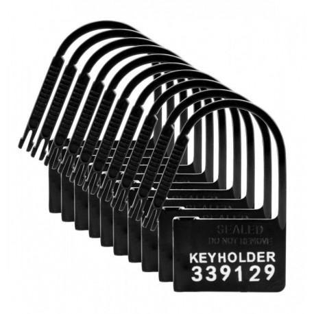 Pack 10 Candados numerados plástico para castidad