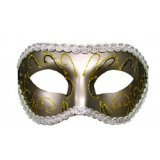 Antifaz S&M - Grey Mascarada - Eyes Wide Shut