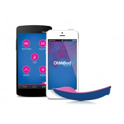 OhMiBod - blueMotion Nex 1 - Huevo vibrador con conexión Bluetooth y WiFi