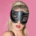 Máscara fetiche de gata con tachuelas y clavos
