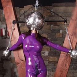 Casco Steelhead BDSM integral - Bola de hierro