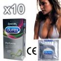 Paquete de 10/50 - Preservativos Durex Performa Retardantes - Retardan la eyaculación