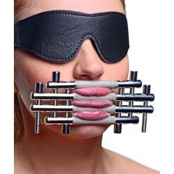 Shut up ! Prensa de lengua - Accesorio de tortura y sumisión BDSM