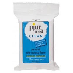 Pjur Med - 25 Toallitas desinfectantes - Sin alcohol