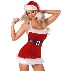 Vestido sexy de Mamá Noel: disfraz navideño