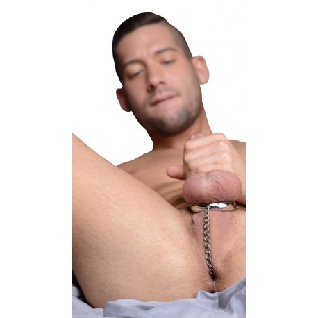 Plug anal con cadena y anillo