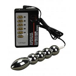 Consolador anal & vaginal para electroestimulación - Electrosexo