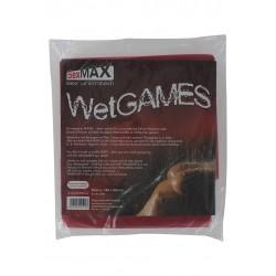 SexMax Bed Sheet WetGame - Sábanas vinilo para juegos sexuales - 180x220