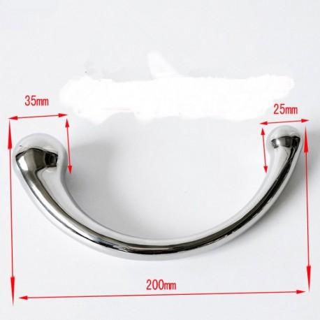 Consolador de metal para estimular punto G