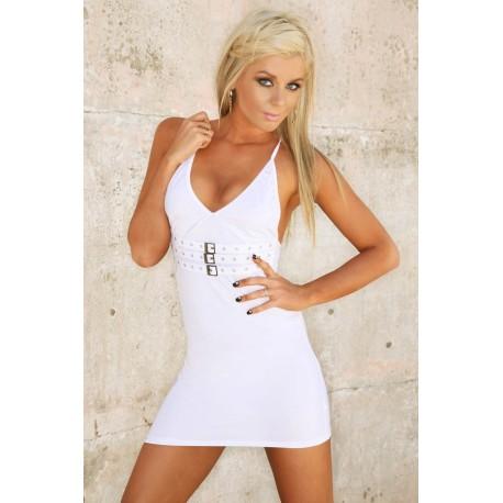 Abendkleid Clubwear: Ultra White