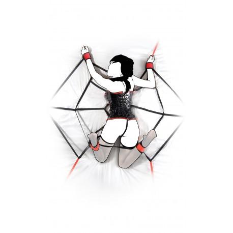Atadudra SM : Tela de araña para cama