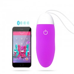 Huevo vibrador sextoy controlado por bluetooth + app Smartphone