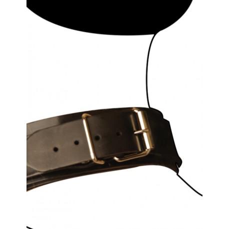 Collier SM en cuir : Slim Line