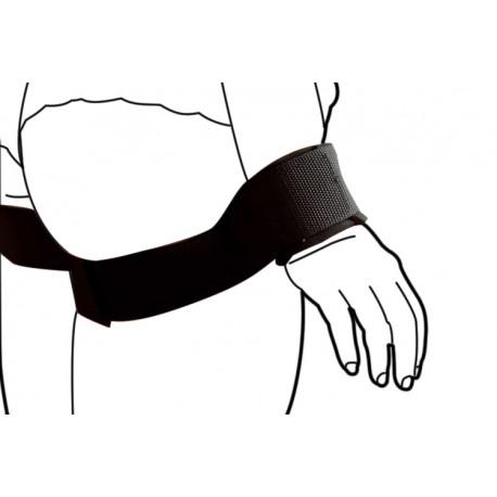 Restricciones: Brazo a lo largo del cuerpo